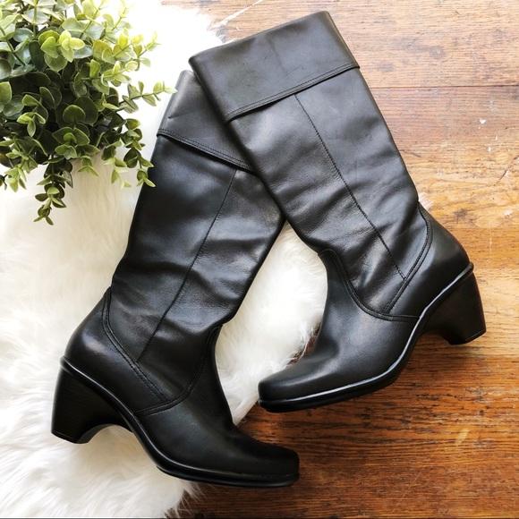 1c83b3141b21 Dansko Shoes - Dansko Black Tall Comfort Boots w  Wide Calf